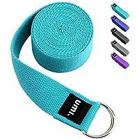 Umi. Essentials, cinghia per yoga, 1,8 metri, colore blu cielo, con eBook omaggio (lingua italiana non garantita)