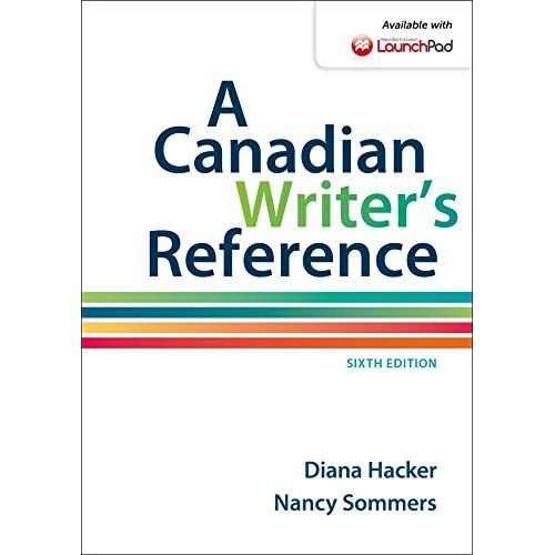 A Canadian Writer's Reference by Diana Hacker (2015-06-26)