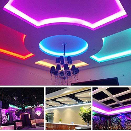 pioleUK Striscia LED 3528 SMD RGB con Cambio Colore e Telecomando 44key Strisce LED