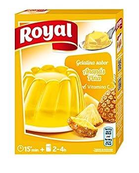 Royal - Gélatine Goût Ananas - 170Gr