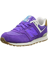 New Balance 574 Leather Mesh, Zapatillas Unisex Niños