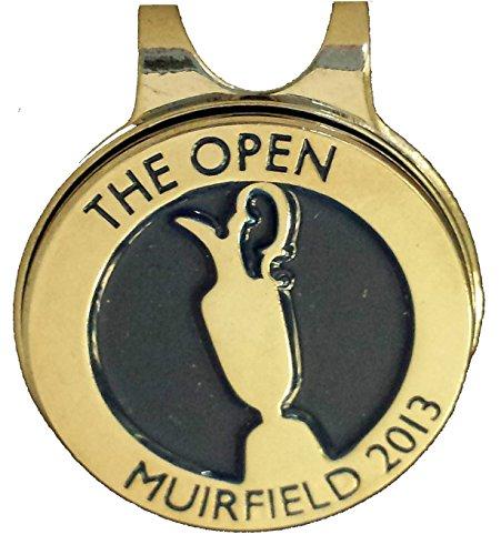 Die Open Championship Golf Muirfield Golf Club 2013Cap Clip Box Set