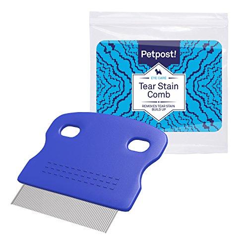 Petpost | Peine Cepillo Limpiador de Manchas Oculares para Perros – Con...