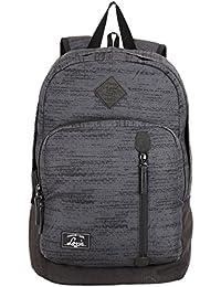 Lavie London 28 Ltrs Grey School Backpack (BUEI105036N3)