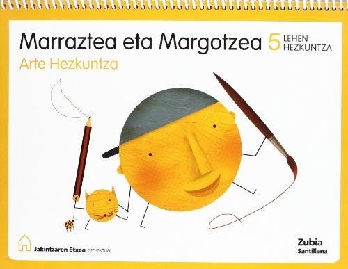 Arte Hezkuntza Marraztea Eta Margotzea 5 Lehen Kajintzaren Etxea Esukera Zubia - 9788481479829