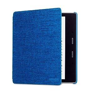 Kindle Oasis Hülle aus wasserbeständigem Stoff, Blau— Nur passend für die 9. Generation (2017 Modell) und 10. Generation (2019 Modell).