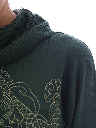 Desigual - Pull - Femme vert Green green