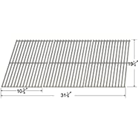 65223 Stainless Steel Cooking Grid (SET OF 3) for Gas Grill Models Brinkmann, Broil Mate, (Jenn Air Gas Grill)