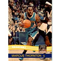 2010 / 2011 Donruss # 102 Marcus Thornton New Orleans Hornets NBA Trading Card-