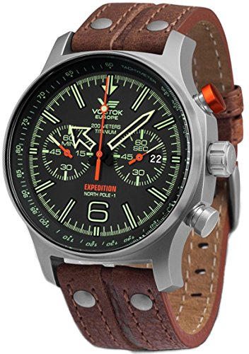 Montre Vostok Europe Expedition homme 6S21-595H299