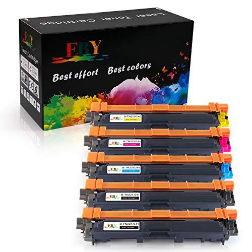 EBY TN241 TN245 Toner TN-241 TN-245 Cartuccia toner Compatibile per Brother HL-3140CW HL-3150CDW HL-3170CDW DCP-9020CDW MFC-9140CDN MFC-9340CDW MFC-9330CDW MFC-9130CW
