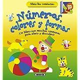 Números, Colores Y Formas. Un Libro Con Muchas Ventanas Para Abrir Y Descubrir (Abro las ventanas)