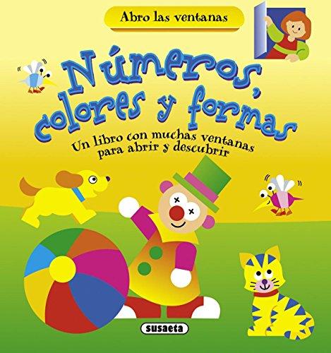 Números, colores y formas (Abro las ventanas) por Equipo Susaeta