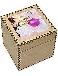 ded3366e28a Azeeda Grand (81mm)  Babioles de Noël  boîte de Bijoux (JB00004703)