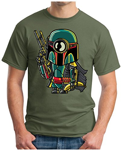 OM3 - MINI-BOBA - T-Shirt, S - 5XL Oliv