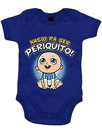 Body bebé nacido para ser Periquito Espanyol fútbol