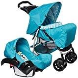 Graco Travel System Mirage + Parent Into The Woods (Blue)