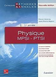Physique MPSI-PTSI 1re année