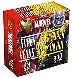 Boîte Super héros ou super vilain Marvel