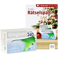 Gingium extra 240 mg, 80 St. Filmtabletten preisvergleich bei billige-tabletten.eu