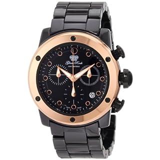 Glam Rock Women's GR50110 Aqua Rock Chronograph Black Dial Ceramic Watch