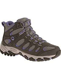 Merrell Women's Ridgepass Mid Waterproof High Rise Hiking Boots