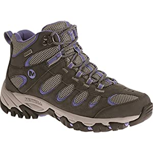 51KdyEp5AwL. SS300  - Merrell Women's Ridgepass Mid Waterproof High Rise Hiking Boots