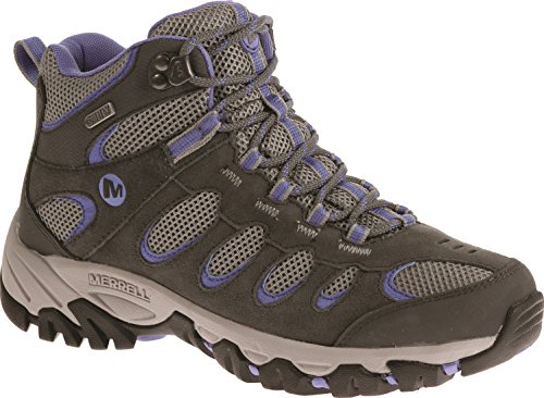 Merrell Ridgepass Mid Waterproof, Women's Lace-Up High Rise Hiking Shoes - Castle...