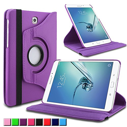 Infiland Samsung Galaxy Tab S2 9.7 Funda Case-PU Cuero 360°Rotación Smart Cover Cascara con Soporte para Samsung Galaxy Tab S2 T810N / T815N 24,6 cm (9,7 pulgadas)Tablet-PC (con Auto Reposo / Activación