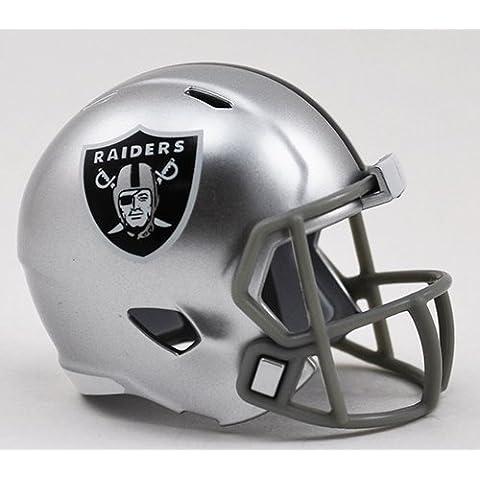 OAKLAND RAIDERS NFL Riddell Speed POCKET PRO Mini Football Helmet by Unknown