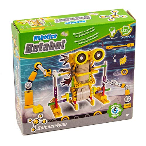Science4you-Robotics Betabot Juguete científico y Educativo Stem,, Regular (605152)