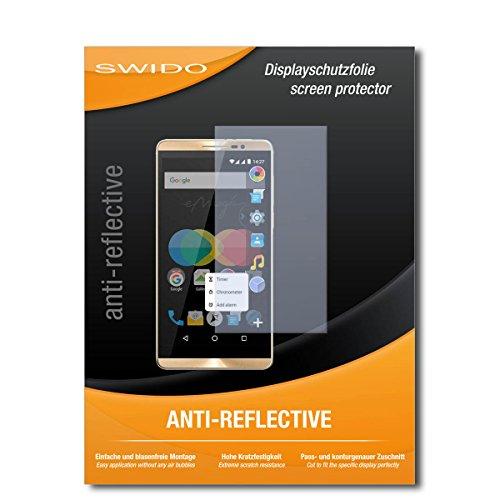 SWIDO Schutzfolie für Allview P8 eMagic [2 Stück] Anti-Reflex MATT Entspiegelnd, Hoher Härtegrad, Schutz vor Kratzer/Bildschirmschutz, Bildschirmschutzfolie, Panzerglas-Folie