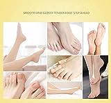Lanspo Fuß Hautpflege Maske 1Pair Peeling Schale Mask Baby Soft Feet Kallus Removal Hard Dead Skin Pflege