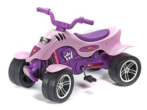 Falk 608 Pedal Quadricycle juguete de montar - Juguetes de montar (Pedal, Quad, 3 año(s), 4 rueda(s), Rosa, 7 año(s))