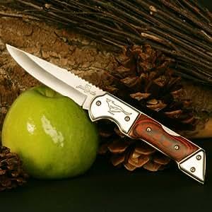 Couteau De Poche Pliant Chasse Original Guangda Folder *Fast Coyote* Mm129