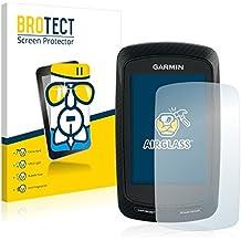 BROTECT AirGlass Protector Pantalla Cristal Flexible Transparente para Garmin Edge 800 Protector Cristal Vidrio - Extra-Duro, Ultra-Ligero, Ultra-Claro