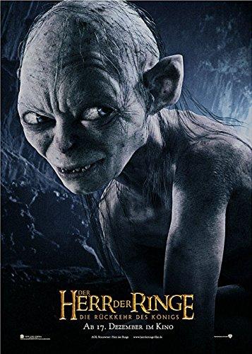 Der-Herr-der-Ringe-Die-Rckkehr-des-Knigs-Gollum-2003-original-Filmplakat-Poster-Din-A1-59-x-84-cm