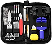 Watch Repair Kit YOMYM 147 in 1 Repair Watch, Watchmaker Screwdriver Professional Watch Repair Tool Bar R