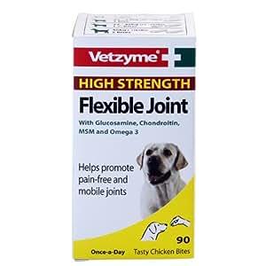 Bob Martin Vetzyme High Strength Flexible Joint, 90 Tablets