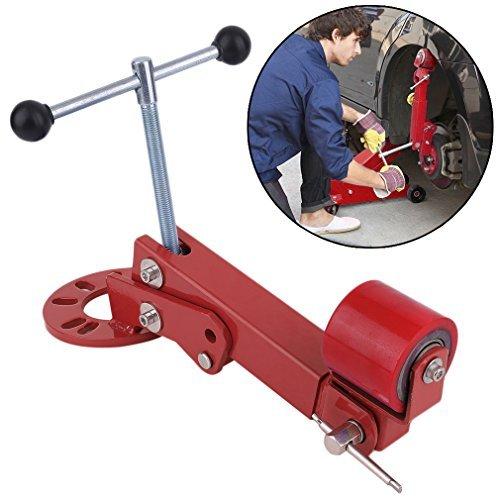Hehilark Adjustable PKW Boerdelrolle Fenderroller STANDARD Boerdelgeraet für Kotfluegel Profiboerdelgeraet (Rot)