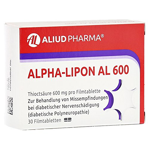 Alpha-Lipon AL 600 30 stk (Alpha-liponsäure-pulver)