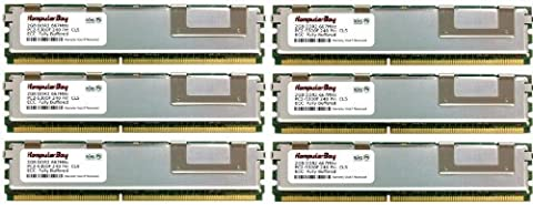 Komputerbay 12GB (6x 2GB) 667MHz PC2-5300 DDR2 Fully Buffered Memory Module