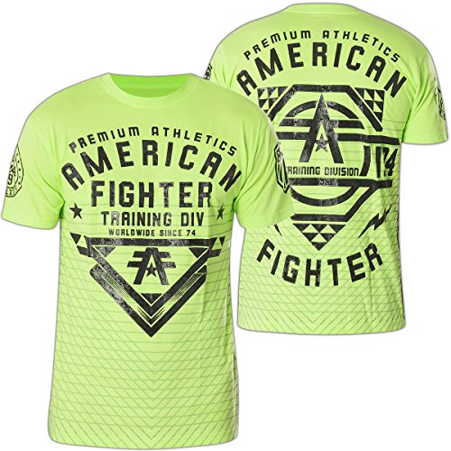 American Fighter by Affliction T-Shirt Mansfield Grün Grün
