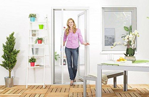 Insektenschutz Fliegengitter Rollo Tür Insektenschutzrollo SMART auf Maß geschnitten oder als Selbstbausatz