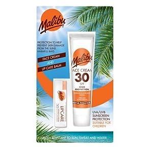 Malibu Face Lotion Plus Lipbalm with SPF30
