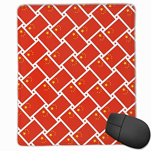 Preisvergleich Produktbild Mausunterlage China-Flaggen-Webart-Spiel-Mausunterlagen-Matte fertigen rutschfestes 25 x 30 x 0, 3 cm