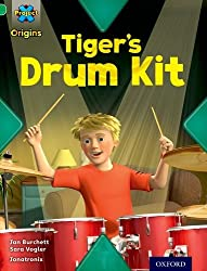 Project X Origins: Green Book Band, Oxford Level 5: Making Noise: Tiger's Drum Kit