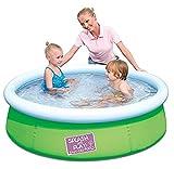 Bestway Splash and Play Fast Pool in grün, Durchmesser 152 cm