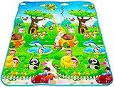 R. K. INTERNATIONAL Playmat Waterproof, Anti Skid, Double Sided Baby Crawling Floor Mat