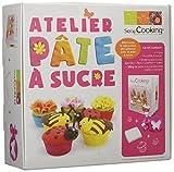 ScrapCooking 3991 Coffret Atelier Ma Pâte à Sucre, Ingrédients, Multicolore, 19,8 x 20,5 x 7 cm